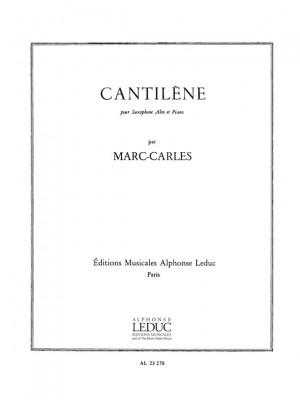Marc Carles: Cantilene