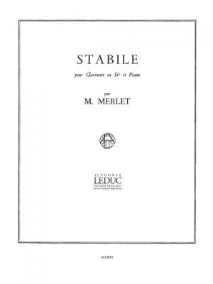 Michel Merlet: Stabile