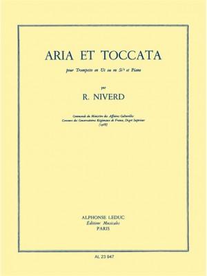 Niverd: Aria Et Toccata