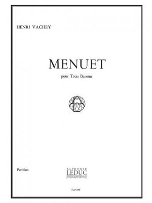 Henri Vachey: Menuet