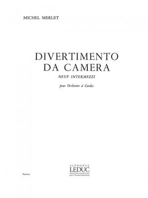 Michel Merlet: Michel Merlet: Divertimento da Camera Op.17