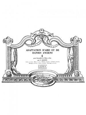 F. Ligistin: Adaptation dAirs et de Danses anciens Vol.4