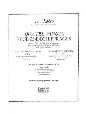 Jean Patero: Jean Patero: 80 Etudes de Dechiffrages Vol.1
