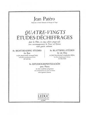 Jean Patero: Jean Patero: 80 Etudes de Dechiffrages Vol.3