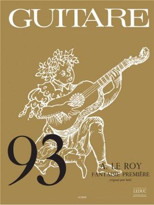 Adrian Le Roy: Adrien le Roy: Fantaisie No.1