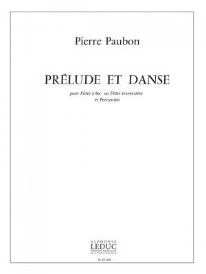 Pierre Paubon: Prelude et Danse
