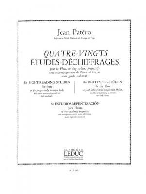 Jean Patero: Jean Patero: 80 Etudes de Dechiffrages Vol.5