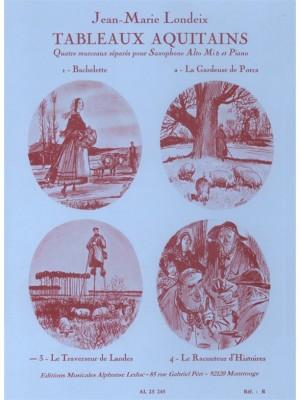 Jean-Marie Londeix: Tableaux Aquitains No.3 - Le Traverseur de Landes