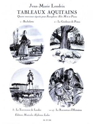 Jean-Marie Londeix: Tableaux Aquitains No.4 - Le Raconteur d'Histoires