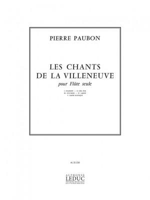Pierre Paubon: Les Chants de la Villeneuve