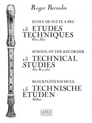 Bernolin: 15 Etudes Techniques