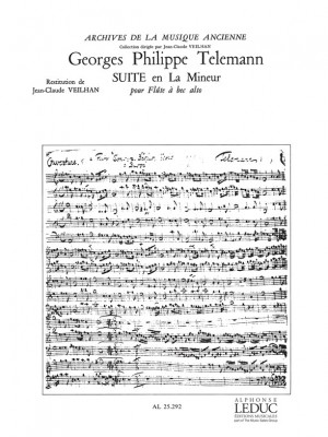 Georg Philipp Telemann: Suite in A minor