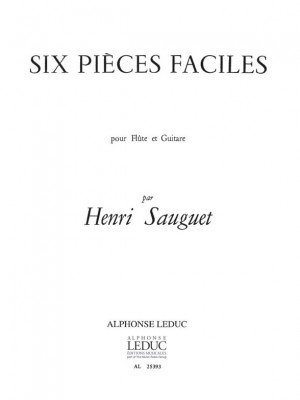 Henri Sauguet: 6 Pieces Faciles