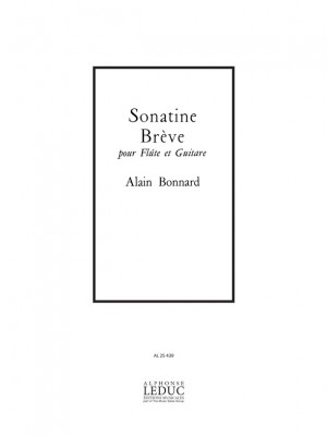Bonnard: Sonatine brève