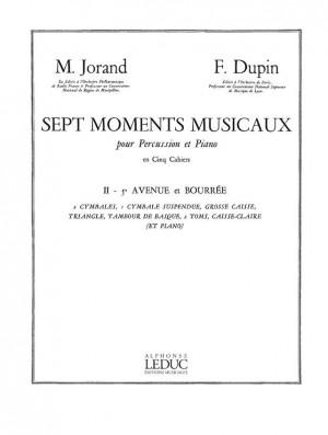 Marcel Jorand: 7 Moments musicaux Vol.2 - Air de Louise