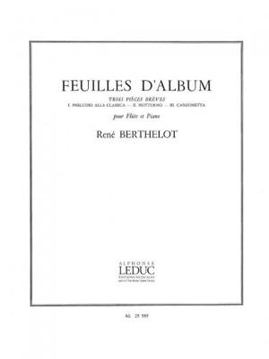 René Berthelot: Feuilles D'Album