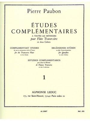 Pierre Paubon: Etudes complementaires Vol.1