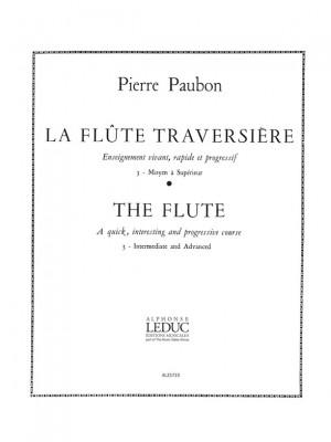 Pierre Paubon: La Flûte traversiere Vol.3