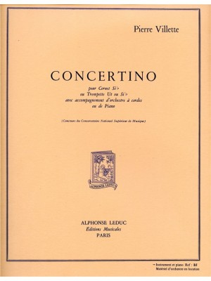 Pierre Villette: Pierre Villette: Concertino Op.43