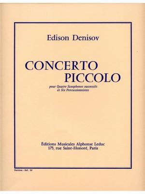 Edison Denisov: Concerto piccolo