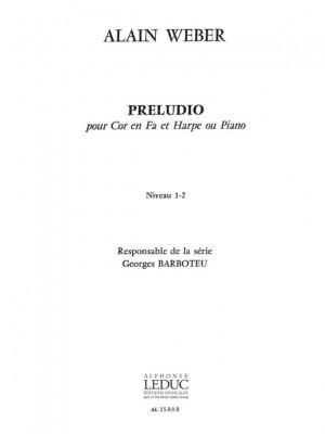 Alain Weber: Preludio