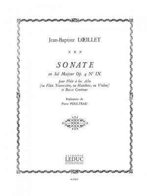 Jean-Baptiste Loeillet: Sonate Op.4, No.9 in G major