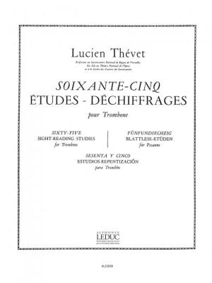 Thevet: 65 Etudes-Dechiffrages