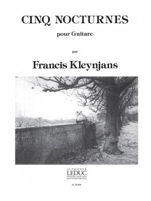 Francis Kleynjans: 5 Nocturnes