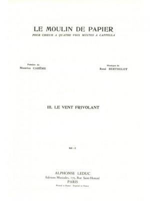 René Berthelot: Le Moulin de Papier No.3 - Lamento dun Trenu