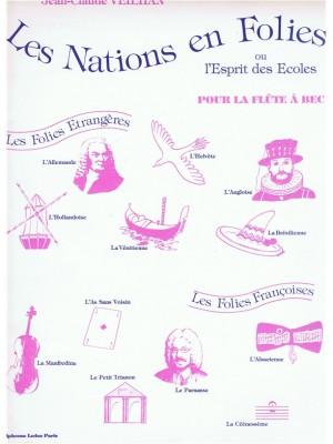 Jean-Claude Veilhan: Les Nations en Folies for Alto Recorder Solo