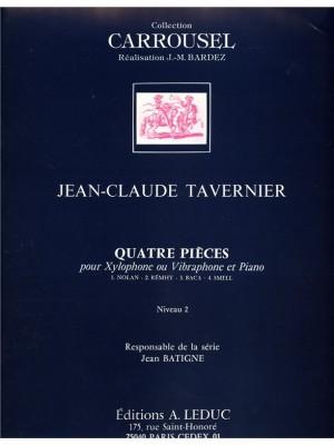J.Cl. Tavernier: 4 Pieces -C.Carrousel