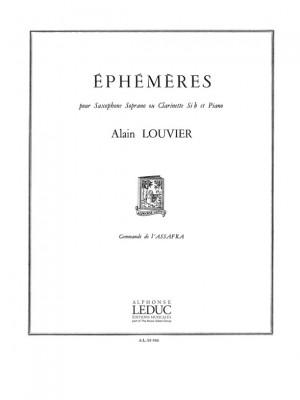 Alain Louvier: Ephémères