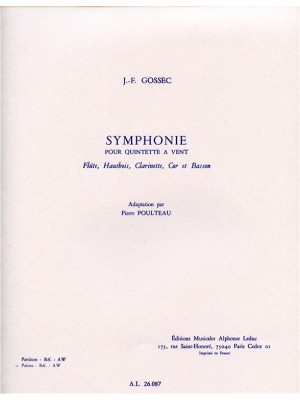 Francois-Joseph Gossec: François-Joseph Gossec: Symphonie