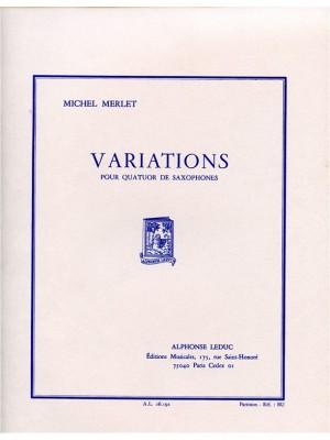 Michel Merlet: Variations Op32