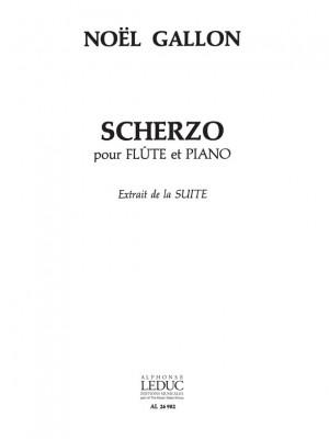 Gabriel Noel-Gallon: Scherzo Extrait De Suite Product Image