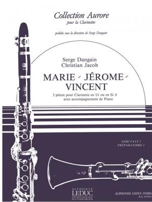 Serge Dangain: Marie, Jerôme & Vincent