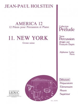 Jean-Paul Holstein: Jean-Paul Holstein: America 12 - No.11: New York