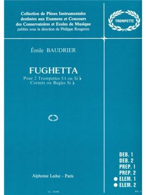 Baudrier: Fughetta