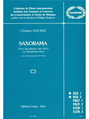 Christian Dachez: Christian Dachez: Saxorama