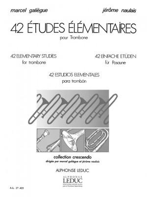 Galiegue: 42 Etudes Elementaires
