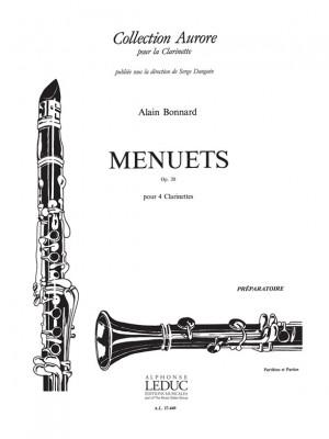 Alain Bonnard: Menuets Op.20