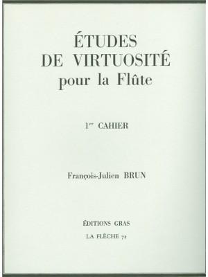 François Julien Brun: Etudes De Virtuosite