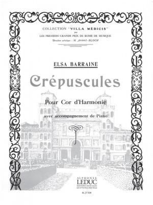 Elsa Barraine: Elsa Barraine: Crepuscules