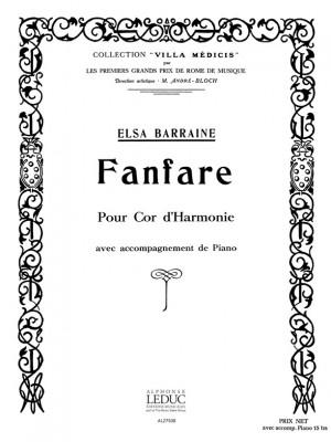Elsa Barraine: Elsa Barraine: Fanfare