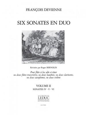 François Devienne: François Devienne: 6 Sonates en Duo Vol.2