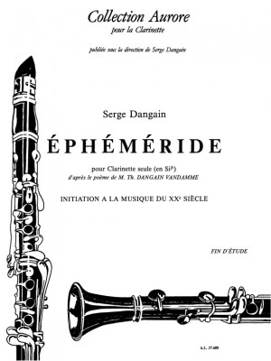 Serge Dangain: Serge Dangain: Ephemeride