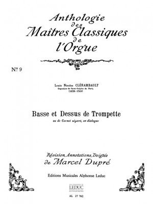Louis-Nicolas Clérambault: Basse Et Dessus De Trompette