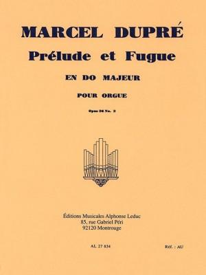 Marcel Dupré: 3 Preludes et Fugues Op.36, No.3 in C major Product Image