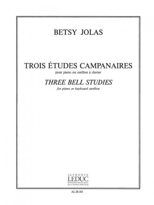 Betsy Jolas: 3 Etudes campanaires