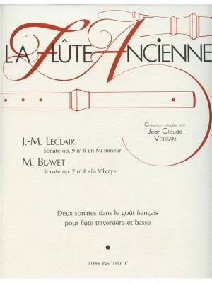 Jean-Marie Leclair: Sonate Op.9, No.11 & Sonate Op.2, No.2